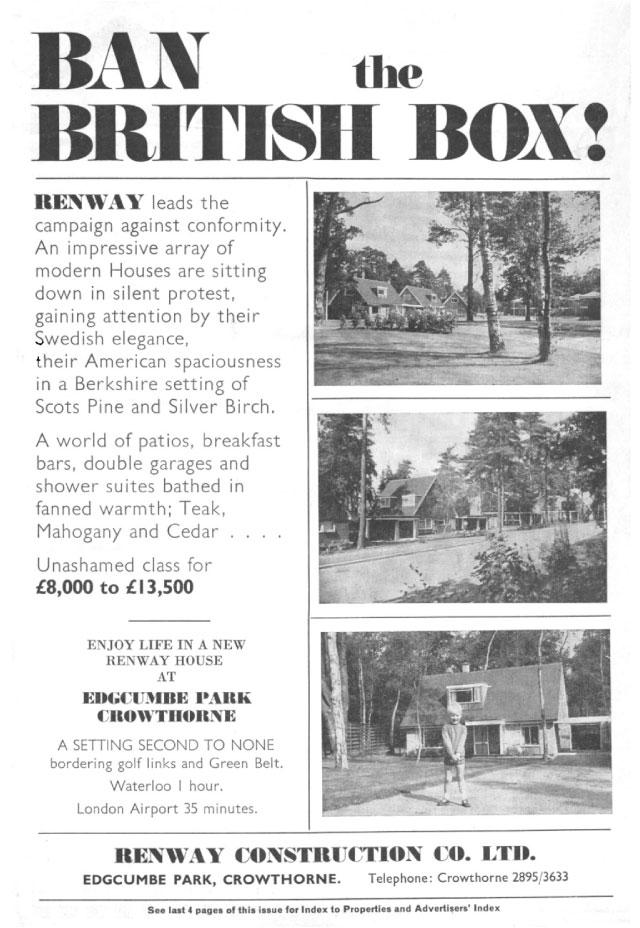 Renway — Ban the British Box