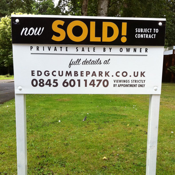 SOLD! We sold our property without an estate agent