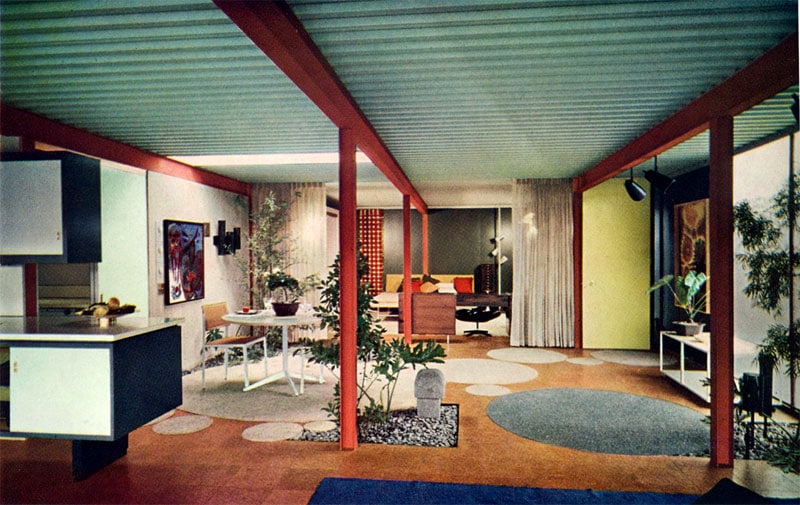 Eichler X-100 living space
